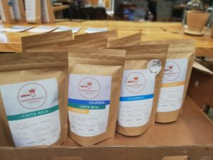 baristocracy coffee packs retail