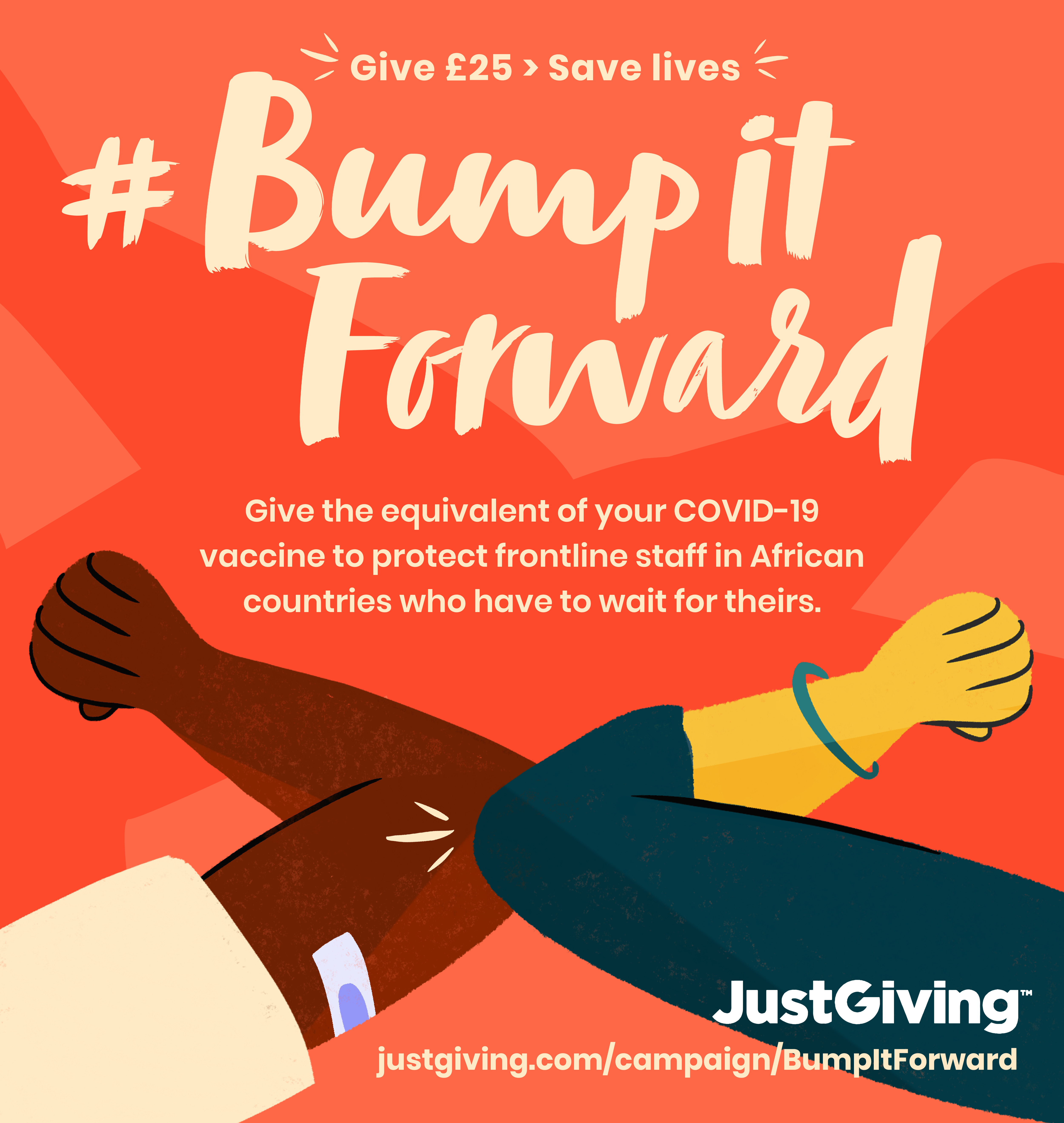 Fundraising for #BumpItForward